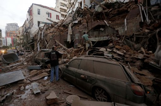 Belgisch noodhulpteam aangekomen in Beiroet