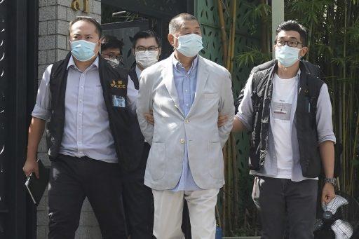 Criticaster van Chinees beleid gearresteerd in Hongkong
