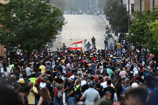 Libanese regering dient ontslag in na verzet