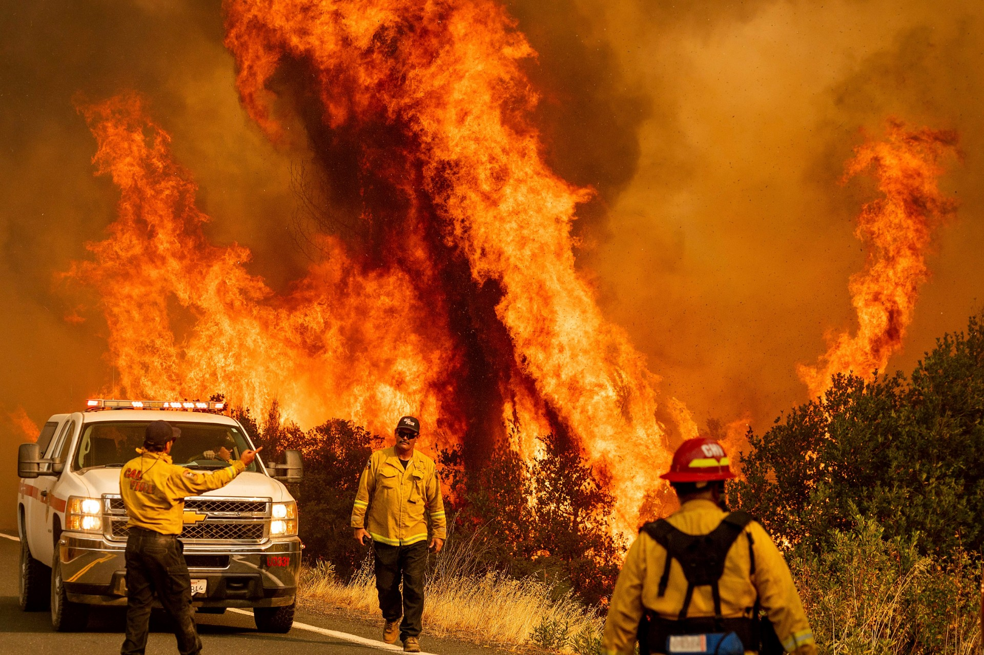 wildfires in Californië