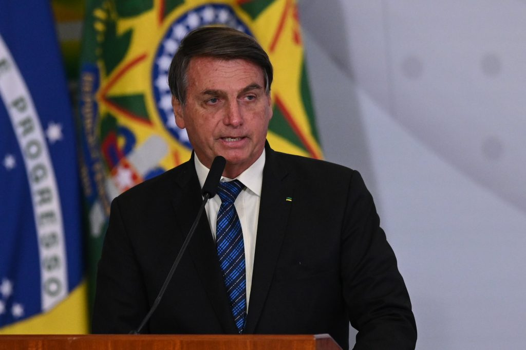 Jair Bolsonaro, president van Brasilië