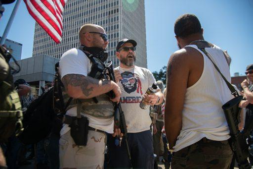 'Amerika is exact één incident verwijderd van geweld'