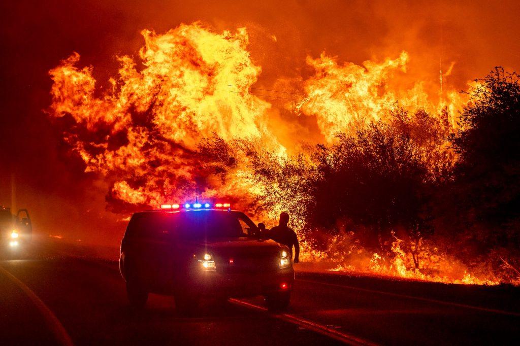 Wildfires in Californië