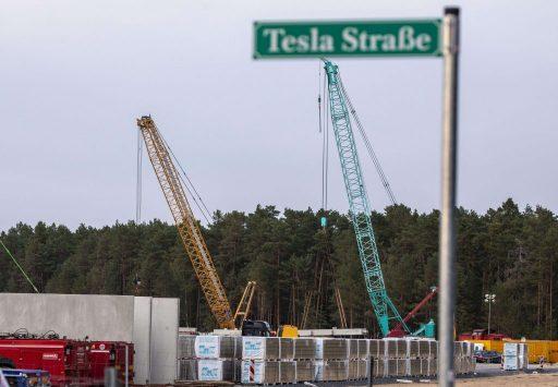 La construction de la Gigafactory allemande à l'arrêt, Tesla n'a pas payé ses factures d'eau