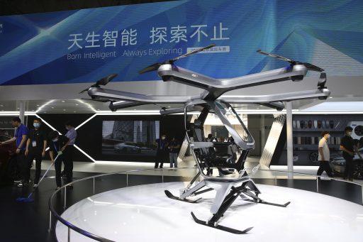 De vliegende stoel: elektrische auto start-up Xpeng stelt pilootproject voor