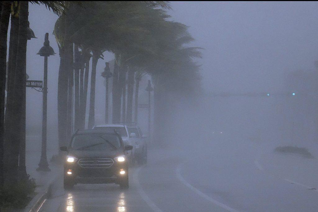 Orkaan Eta in Fort Lauderdale, Florida