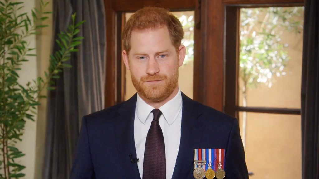 Prince Harry Wears Medals With Pride For Military Veterans Fundraising Telethon