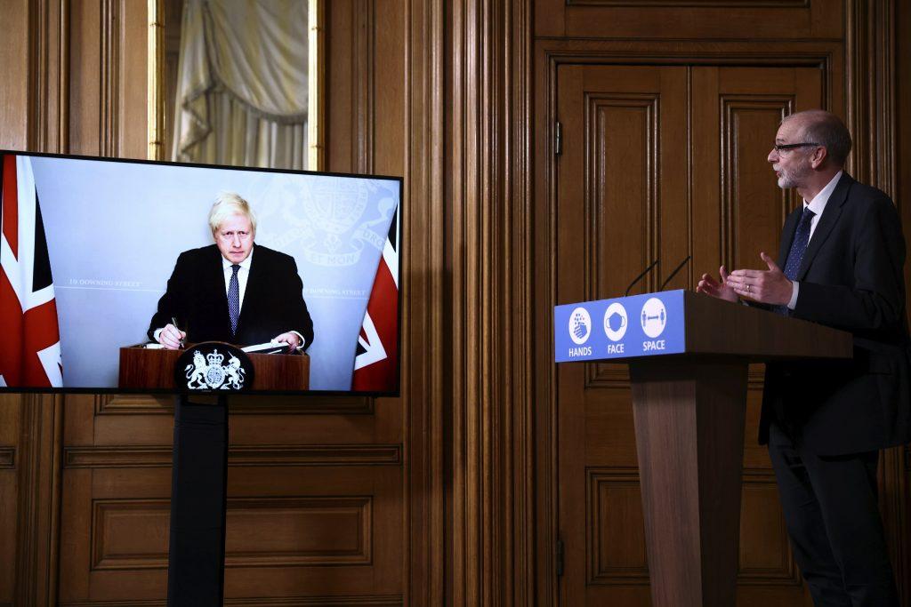 Boris Johnson kondigt einde van de lockdown aan, en voert een Britse 'coronabarometer' in
