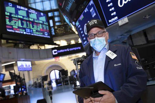 Tegenvallende werkloosheidscijfers duwen Wall Street lichtjes in het rood
