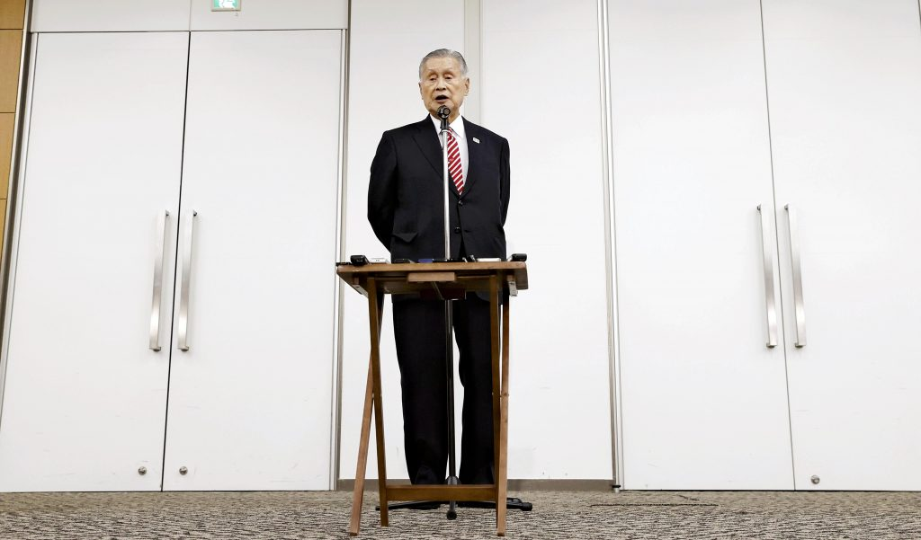 Tokyo 2020 Olympic Chief Mori Apologizes For His S