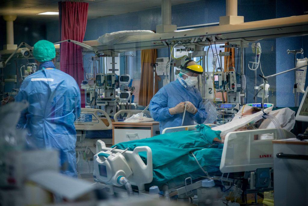 Italiaans ziekenhuis in april 2020