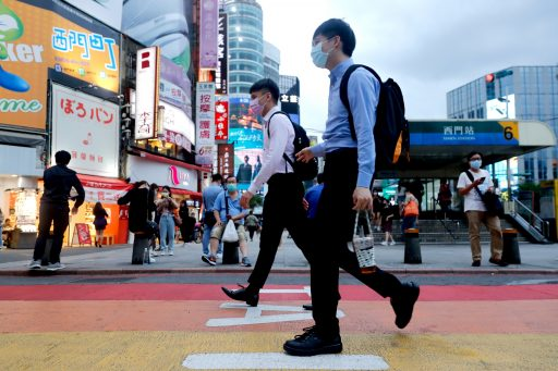 Is het Covid-paradijs Taiwan in gevaar?