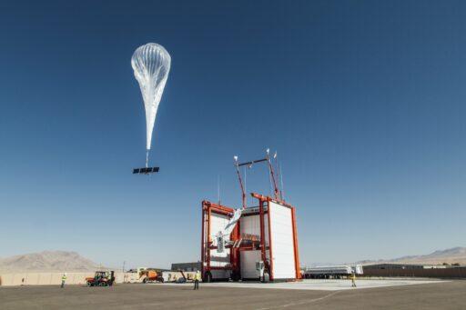 Google-zuster lost 4G-ballonnen boven Afrika