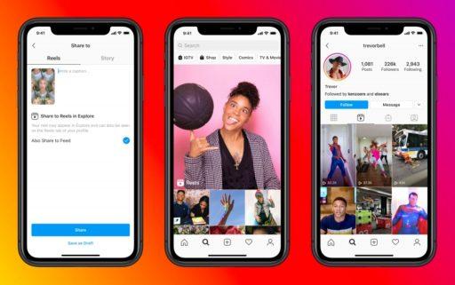 Instagram: avec le lancement de 'Reels' Facebook concurrence TikTok