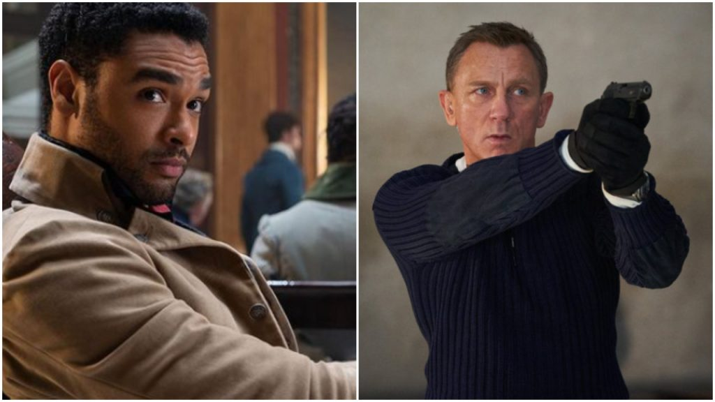 James Bond Regé-Jean Page Daniel Craig