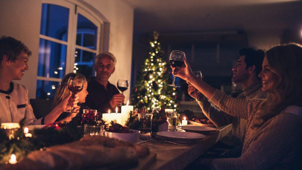 Kerstmis Familie Québec