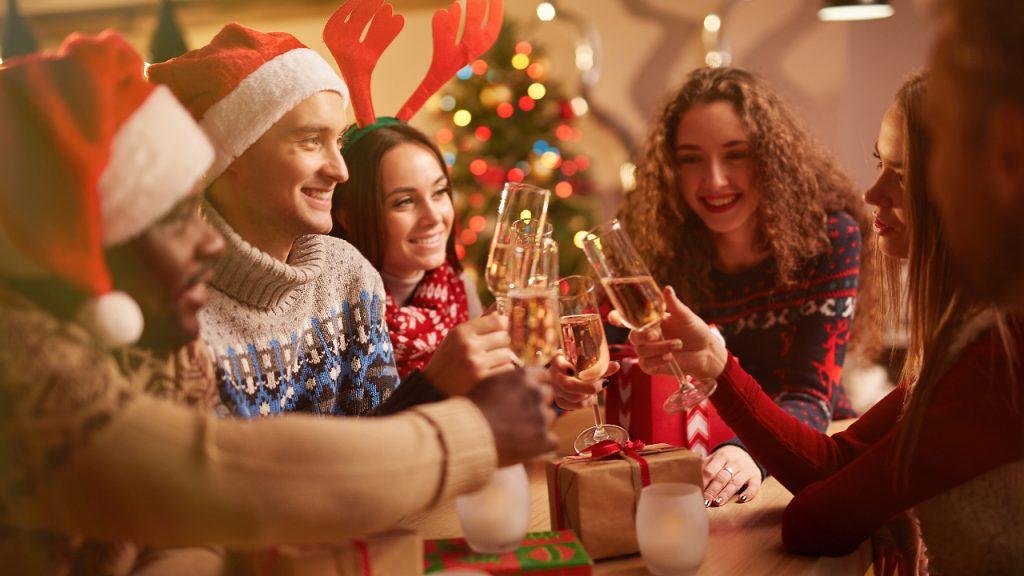 Kerstmis Vieren Gezin Studie
