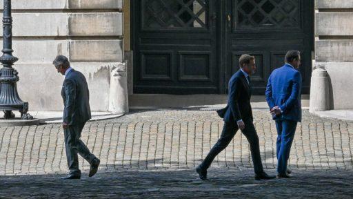 Magnette et De Wever au long cours: 'Le Club des 5 est solide comme un roc'