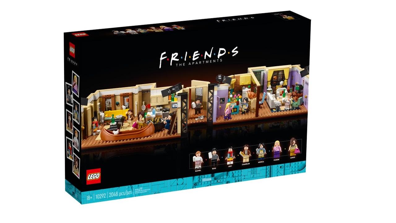 LEGO lanceert bouwset van twee iconische 'Friends'-appartementen - Newsmonkey