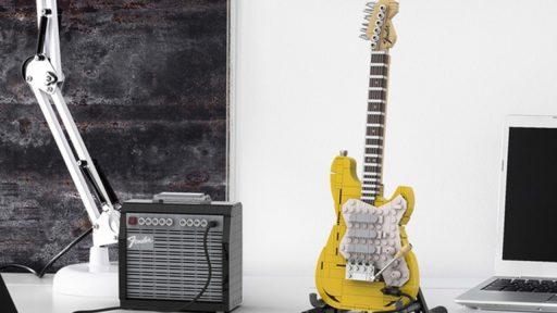 Lego komt met bouwset van de Fender Stratocaster