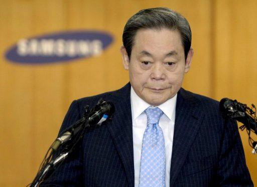 Lee Kun-hee, de patriarch die Samsung groot maakte, is overleden