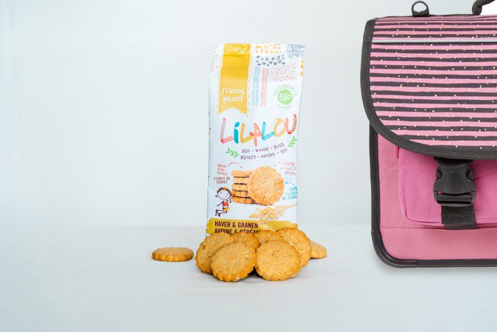 Vangst van de dag: de gezonde haver- en granenkoekjes met 100% natuurlijke ingrediënten van LiLaLou Biscuits
