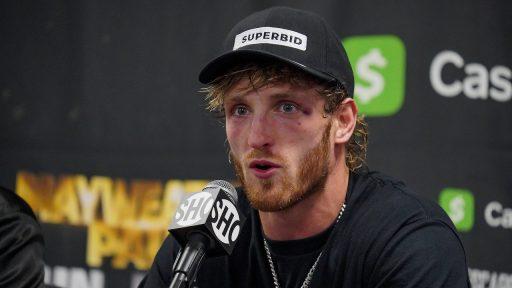 Logan Paul persconferentie boksmatch