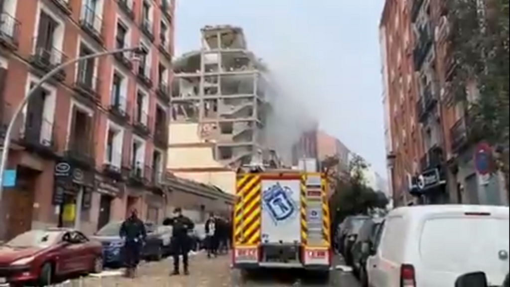 Madrid explosie