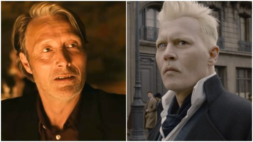 Mads Mikkelsen Johnny Depp Fantastic Beasts