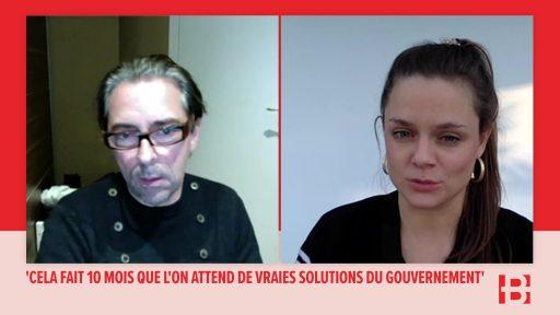 Carl De Moncharline, sur la faillite du secteur événementiel : 'On a besoin d'un baxter, on nous met un pensement'