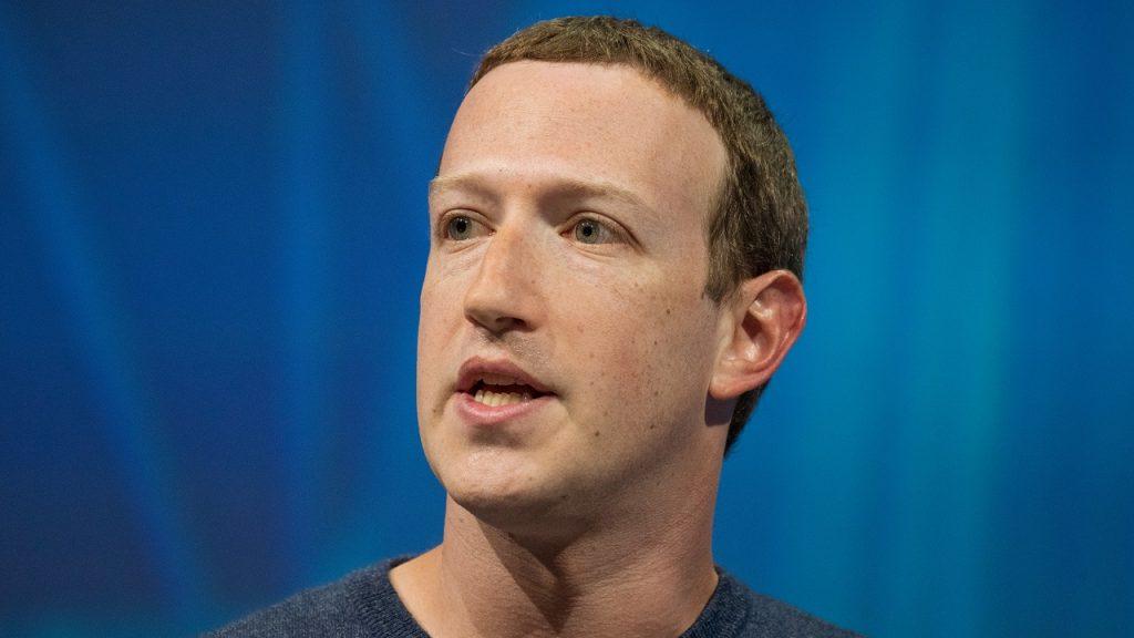 Mark Zuckerberg Facebook 2018
