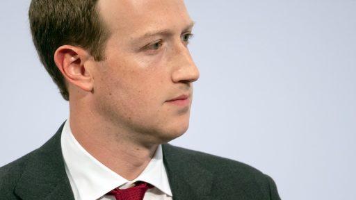 Mark Zuckerberg Facebook 2020