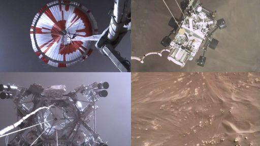 Mars rover Perseverance NASA