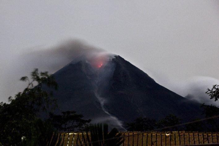 Vulkaan Merapi