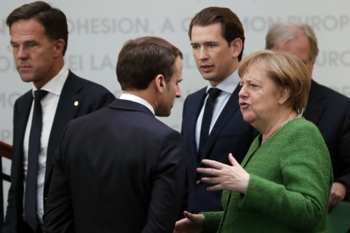 Duits-Franse tandem en 'vrekkige vier' lijnrecht tegenover elkaar in aanloop naar EU-top