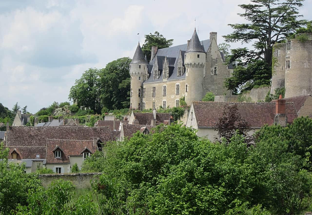 Een kasteel in Montrésor.