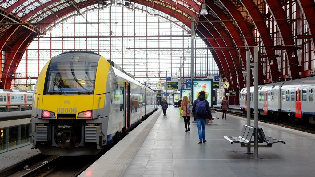 NMBS Station Antwerpen-Centraal