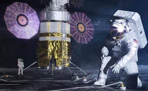 La NASA et l'ESA s'allient pour retourner sur la Lune, avant 'le prochain grand bond de l'humanité'