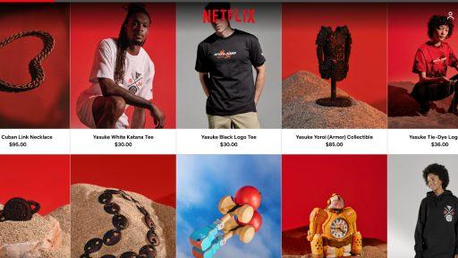 Netflix webshop