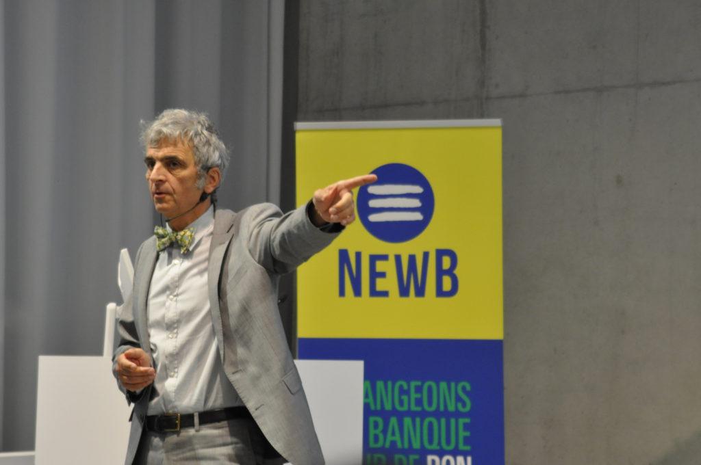 NewB-voorzitter Bernard Bayot. - NewB