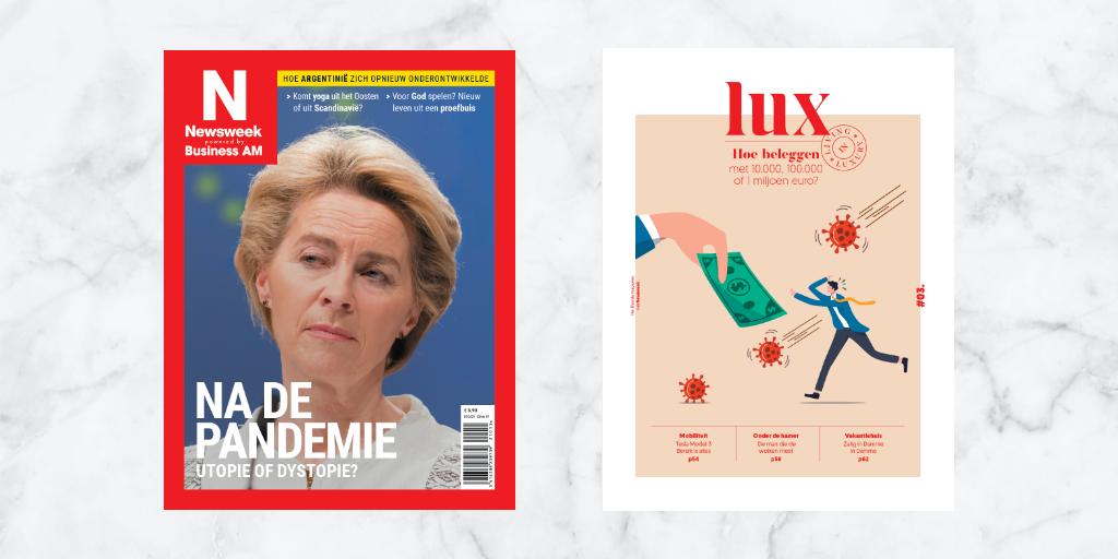 Deze maand in Newsweek: «Na de pandemie: utopie of dystopie»