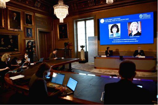 Nobelprijs Scheikunde gaat naar genetisch 'knip-en- plakwerk'
