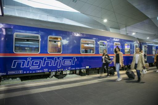 Meer nachttreinen tussen Brussel en Wenen, verbinding met Innsbruck verdwijnt