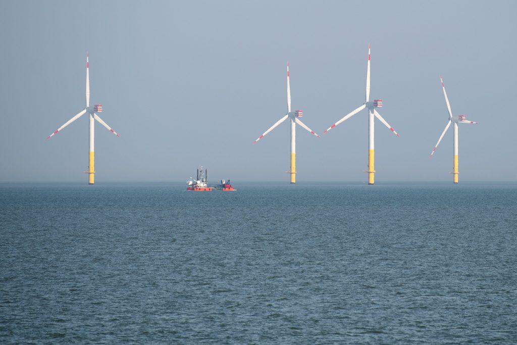 Noordzee offshore windenergie