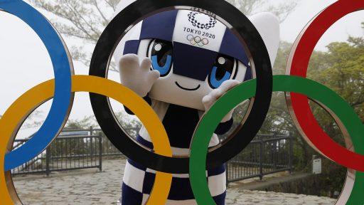 Olympische Spelen ringen mascotte