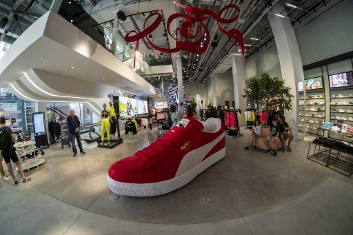 Sportartikelenfabrikant Puma zelf verrast door sterke kwartaalcijfers