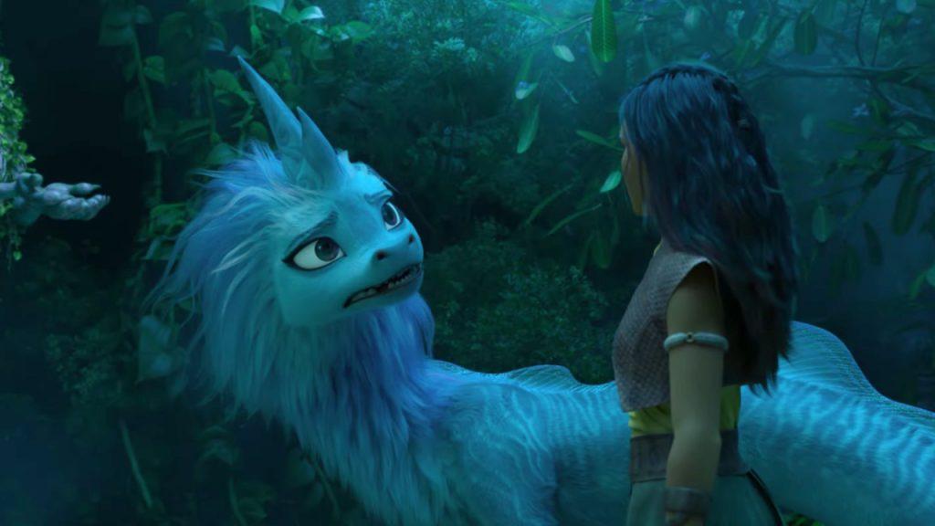 Raya and the Dragon