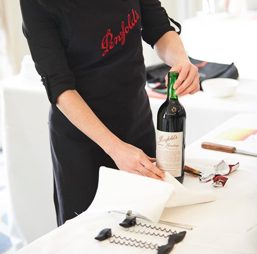 Re-corking clinic Penfolds