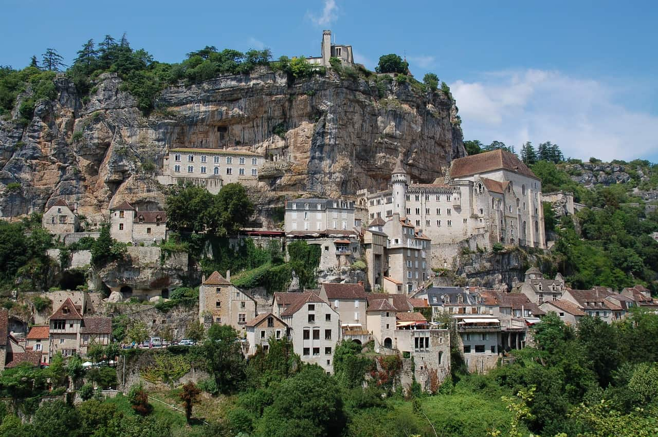 Rocamadour, een van de mooiste Franse dorpjes