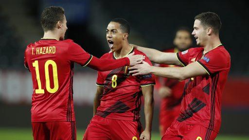 Rode Duivels België voetbal Hazard Tielemans Dendoncker